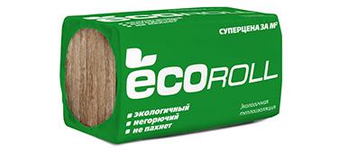 Минеральная вата EcoRoll