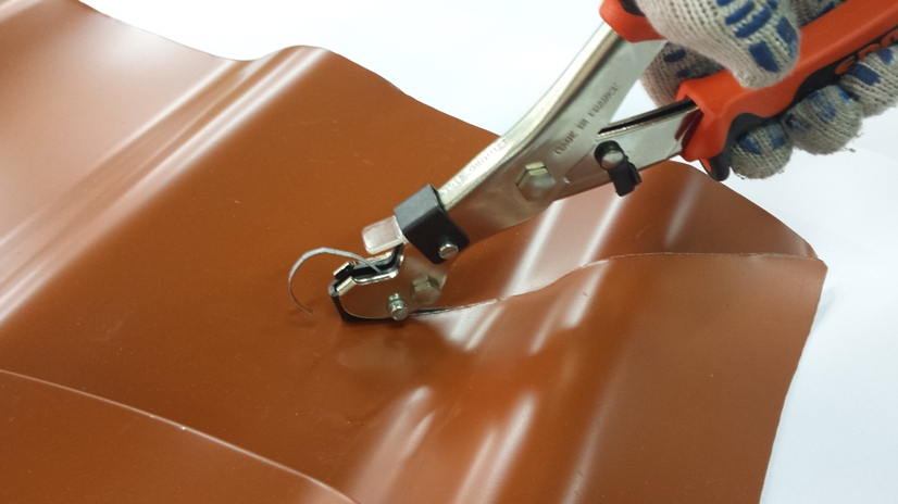 Ножницы просечные по металлочерепице EDMA
