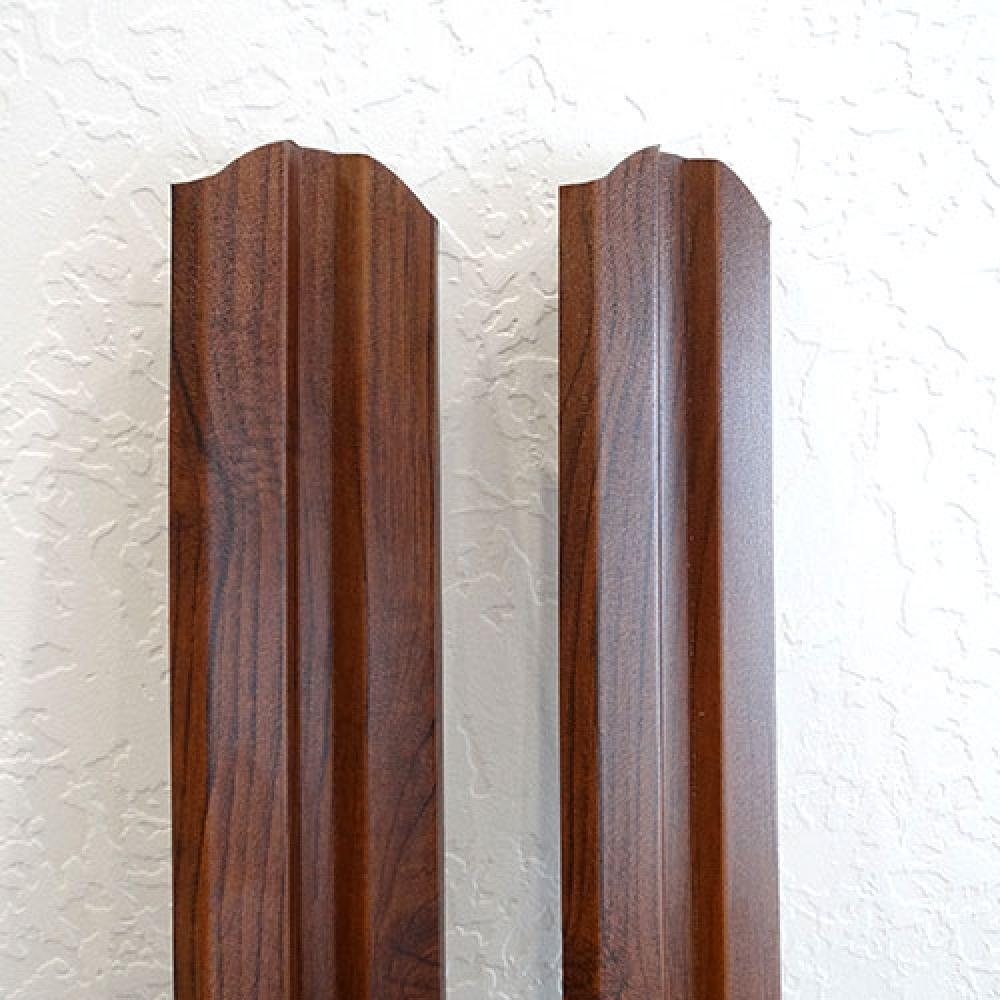 Металлический штакетник Дачник